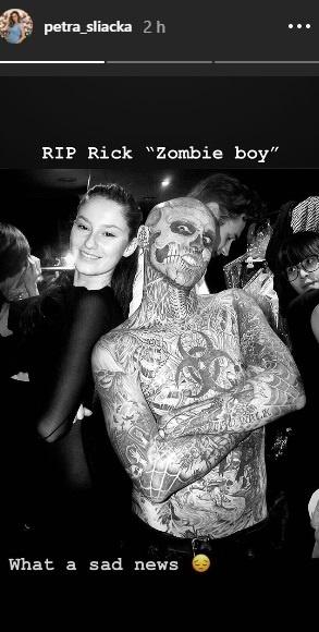 Petra Sliacka, Zombie Boy