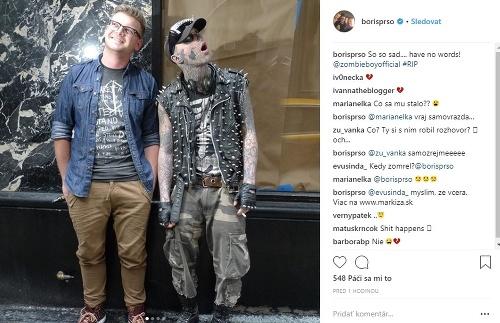 Boris Pršo, Zombie Boy