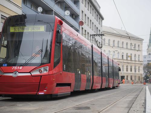 tram Spitalska