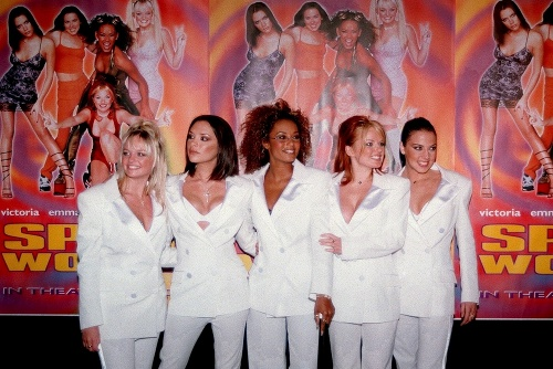 Dievčatá zo Spice Girls