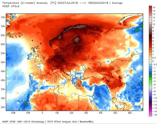 Aktuálna vlna horúčav v
