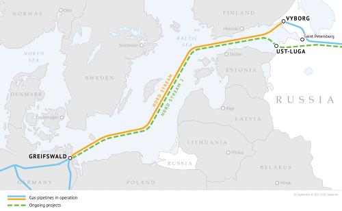 Nový plynovod z Ruska