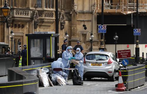 Útok autom pred londýnskym