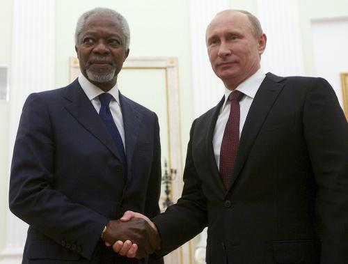 Kofi Annan a Vladimir