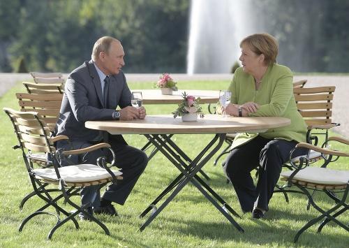Angela Merkel and Vladimir