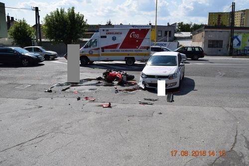 Accidents in Košice.