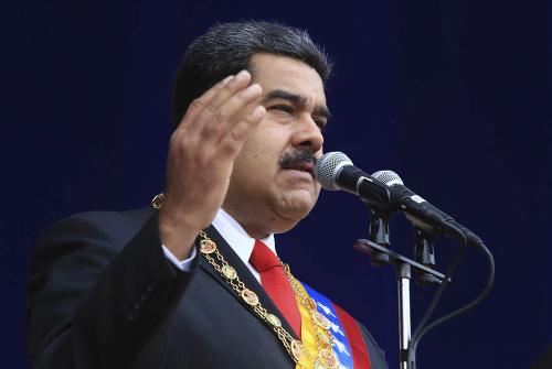 The Venezuelan Socialist Parade fell