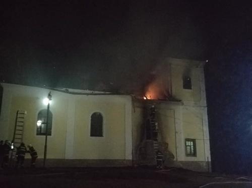Požiar Kaplnky sv. Heleny