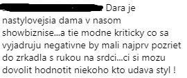 Pozitívne komentáre k Dare