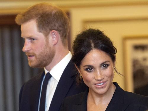 Vojvoda Harry s manželkou