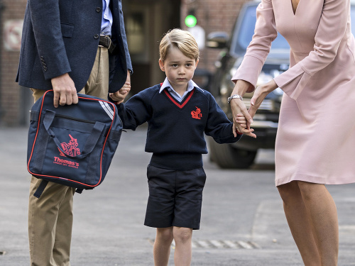 Princ George sa aj