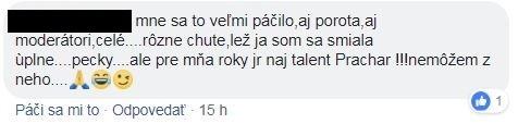 Komentáre Československo má talent