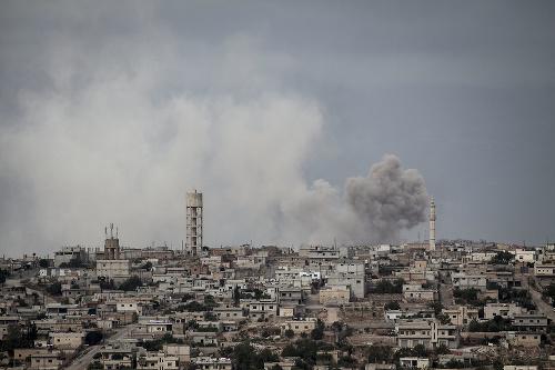 Stret mocností v Sýrii: