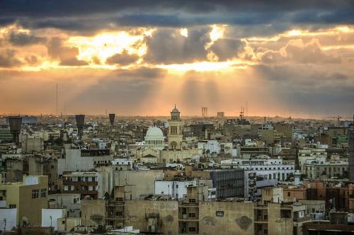 Líbyjská metropola Tripolis.
