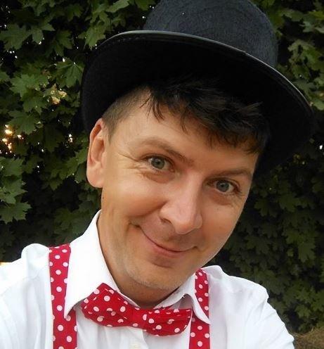 Andrej Bičan v klobúku