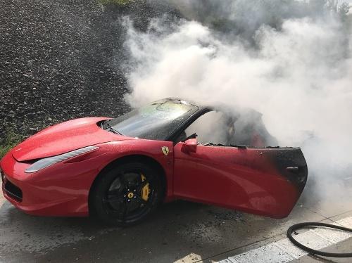 Nehoda na diaľnici Česku.