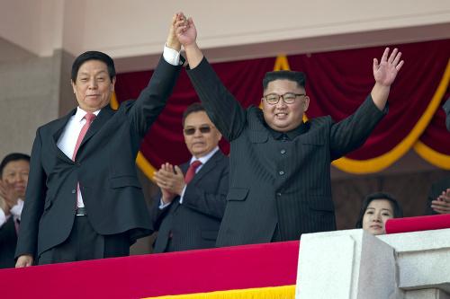 Kim Čong-un a čínsky