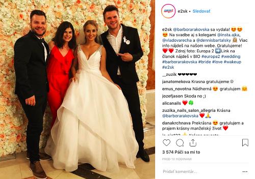 Tajná svadba Barbory Rakovskej:
