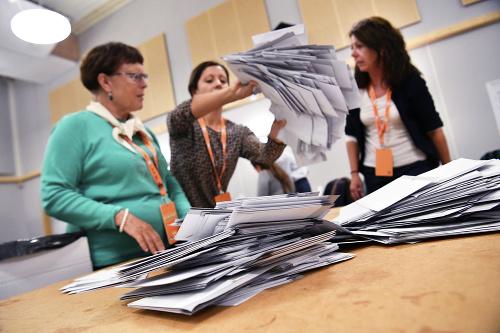 Parlamentné voľby vo Švédsku