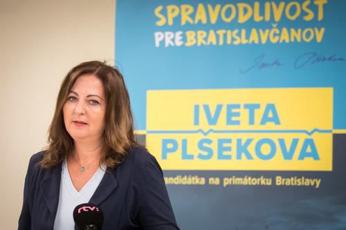 Kandidátka na primátorku mesta