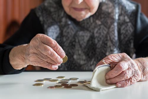 Priemerný novopriznaný starobný dôchodok