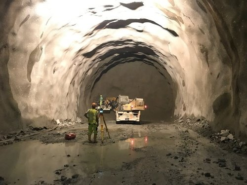 Takto vyzeral tunel Višňové