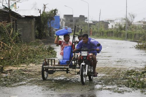 Filipíny sužuje tajfún Mangkhut