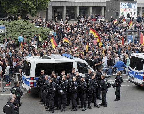 Vražda v Chemnitzi vyvolala