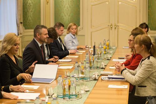 Peter Pellegrini s delegáciou