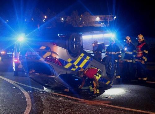 Pri nehode sa našťastie