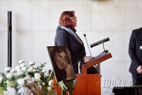 Pohreb Jany Kocianovej