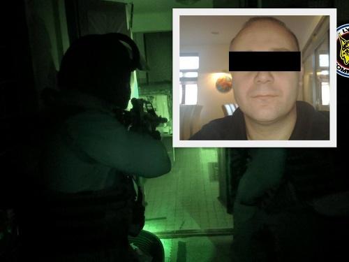 Zábery zo zásahu polície
