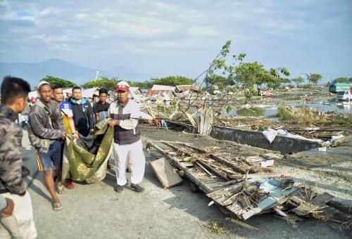Škody po zemetrasení a
