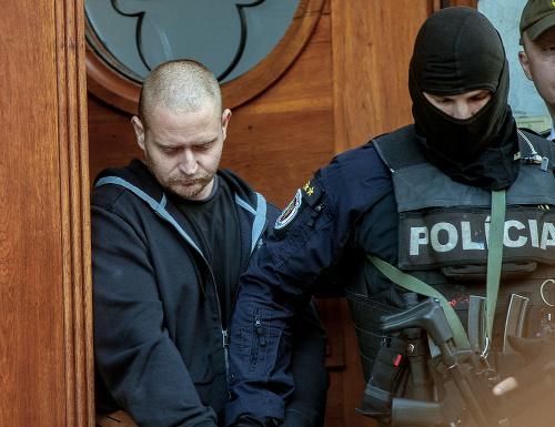 Obvinený Miroslav Marček