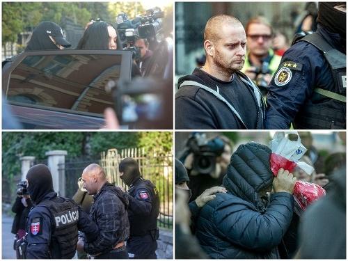Štvorica obvinených na Špecializovanom