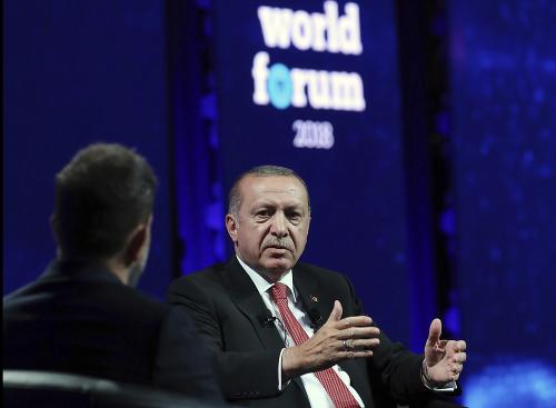 Turecký prezident Recep Tyyip