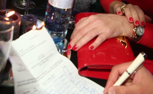 Gabriela Drobová zbierala podpisy