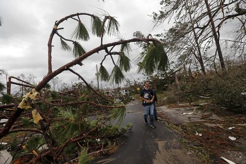 Hurikán Michael spustošil Floridu.
