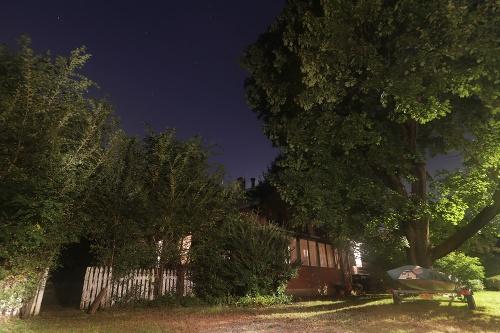 Dom zadržaného Paula Rosenfelda.