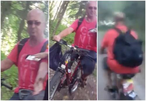 Cyklista vyhadzoval v žilinskom