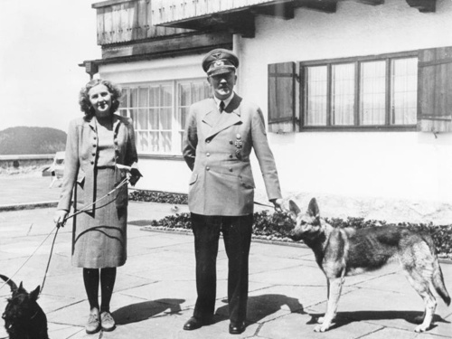 Eva Braun a Adolf