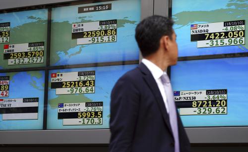Panika na svetových burzách: