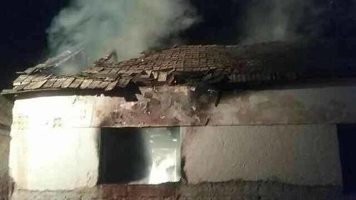 Pri požiari domu v