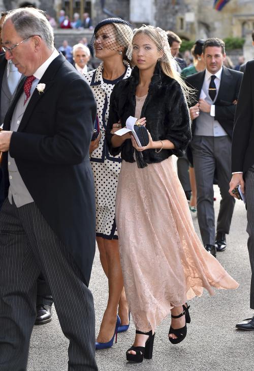 Kráľovskej svadby sa zúčastnila