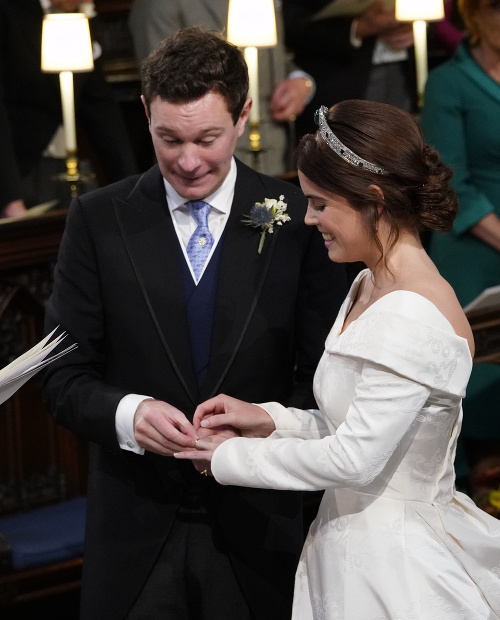 Ženích a nevesta boli