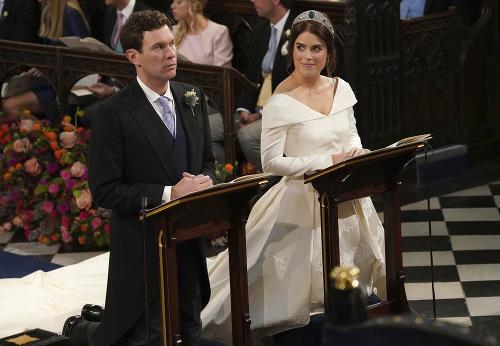 Zábery zo svadby princeznej