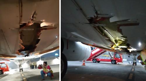 Nešikovný štart lietadla mohol