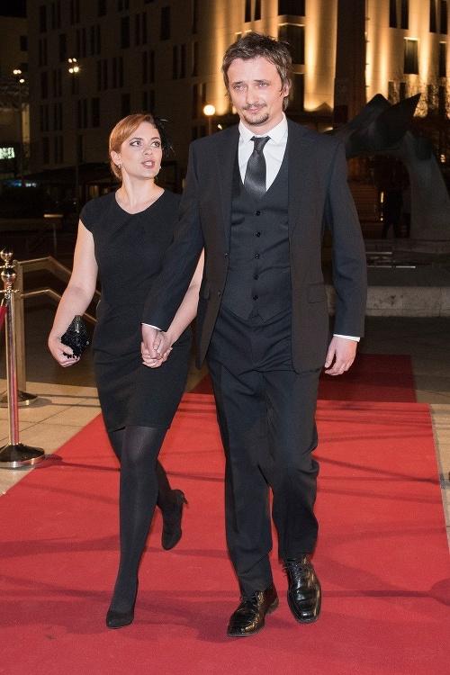 Dano Heriban s manželkou