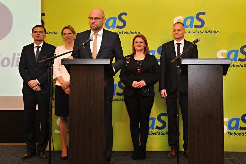 Vedenie strany SaS.