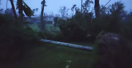 VIDEO Severné Mariány zasiahol